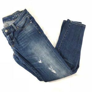 GAP Always Skinny Jeans Size 27/4a low waist